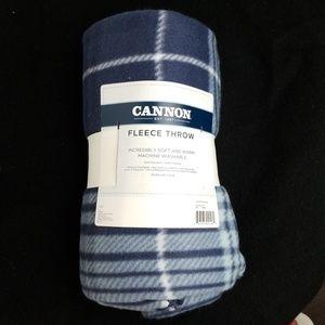 ( FREE ) Cannon Fleece Throw  Blanket